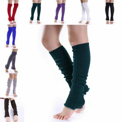 Long Stockings Leg Warmers Girls Fashion Winter Clothing Knitted Warm Boot Cuffs