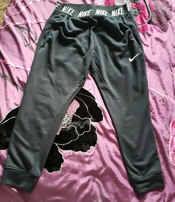 Girls Nike Sport Baggy Black Leggings XL 156-166cm