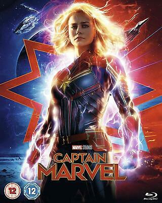 Marvel Studios Captain Marvel [DVD] [2019]- Region 2