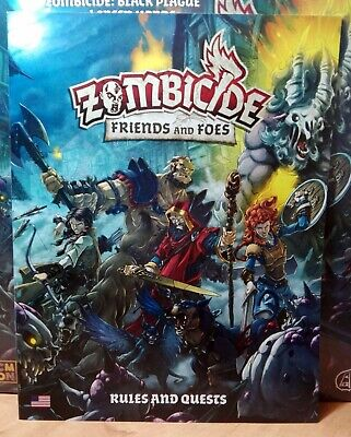 ZOMBICIDE BLACK PLAGUE EFCMZB07 FRIENDS AND FOES VF