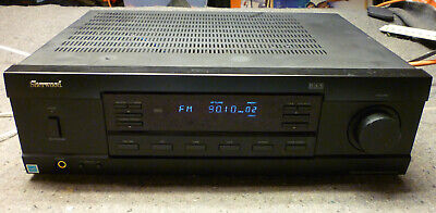 Sherwood RX RX-4109 2 Channel 105 Watt Receiver w Phono Stage WORKS LOOKS GREAT
