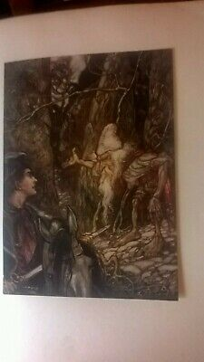 Grimms Fairy Tales Illustrated by Arthur Rackham Constable 1909 Limited ed. 705