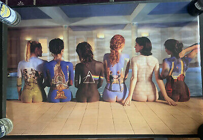PINK FLOYD  ALBUM PICTURE GIRLS BACKS POSTER (Size 36x24)