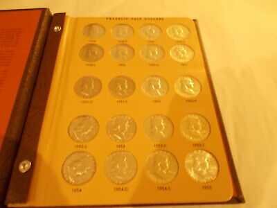 World Coin Library-FRANKLIN HALF DOLLARS- VERY GOOD CONDITION