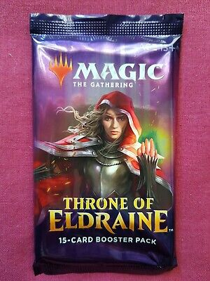 Magic The Gathering THRONE OF ELDRAINE New Sealed Booster Pack MTG