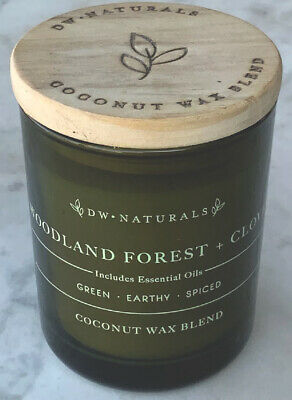 DW Naturals Peony And Garden Rose Coconut Wax Blend With Essential Ouls Candle 3.8 Oz