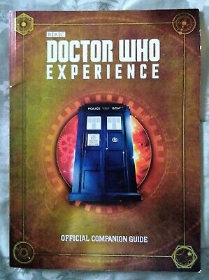 Doctor Who Experience Official Companion Guide from Gallifrey Museum, Cardiff