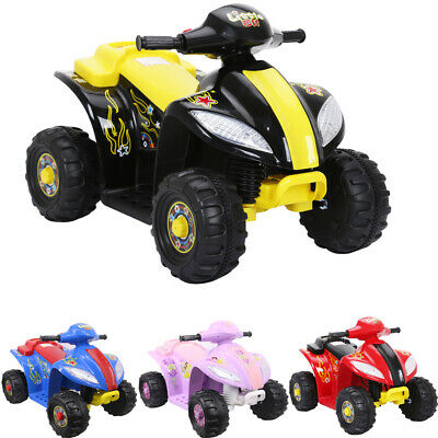 Leopard ELF 6V Kids Quad Bike Electric Children Ride On ATV Battery Powered XMAS