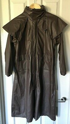THOMAS COOK Pioneer Rain Coat Childrens Unisex Size 12 Brown