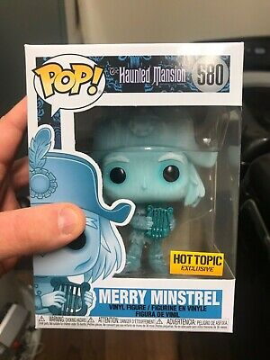 Funko Pop! Merry Minstrel Haunted Mansion Hot Topic Exclusive