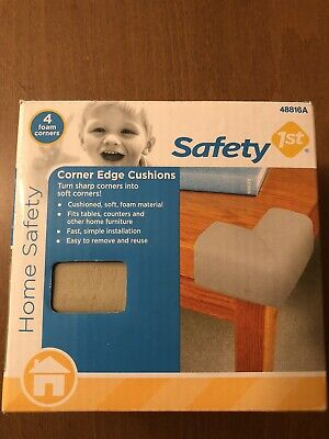 Safety 1st Corner Edge Cushions 4 Foam Corners New Home Safety