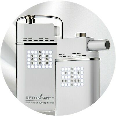KETOSCAN Mini Breath Ketone Analyser & Real Time Fat Burning Monitor