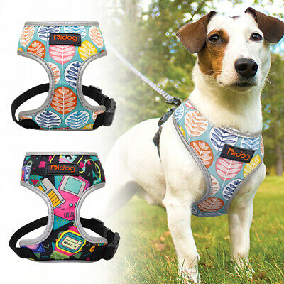 Breathable Dog Harness No Pull Reflective Vest Harness for Small Medium Dogs Cat