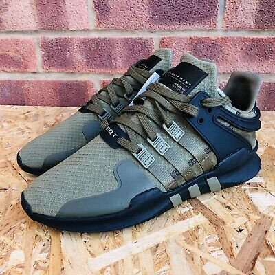MENS ADIDAS EQT Support ADV Win GreyWhite Trainers (SF33