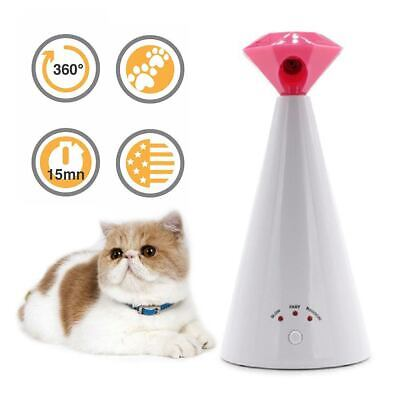 Cat Laser Toy Automatic Rotating Laser Pointer Pet Dog Chaser Light Training Hot