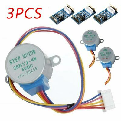 3X Sets ULN2003 Motor Driver Board + DC Stepper 5V Motor 28BYJ-48 for Arduino UK