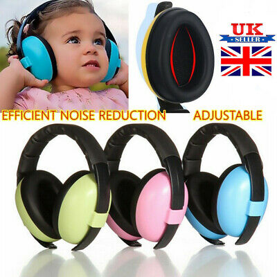 Kids Folding Ear Defenders Noise Reduction Protectors Muff Children Baby Child K