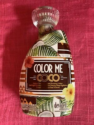 2020 Devoted Creations COLOR ME COCO Coconut Infused Tanning Lotion 100% Auth