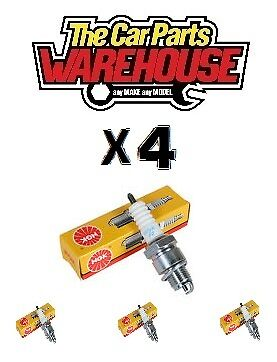 4x Ford Mondeo Mk1 Mk2 1.6 1.8 2.0 Transit Connect NGK Spark Plugs 0005 TR5A-10