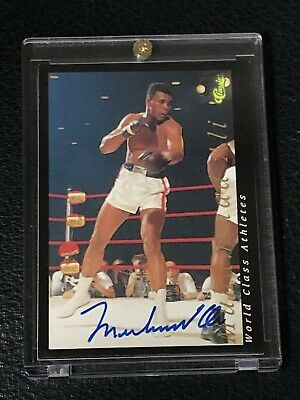 Muhammad Ali 1992 Classic Certified Authentic Signed Autographed Card Boxing
