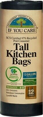 If You Care Tall Kitchen Bags (12 Bags)