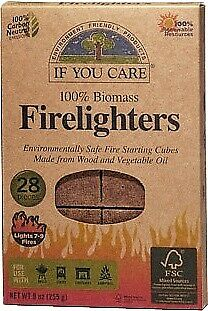 If You Care Firelighters (28 Cubes)