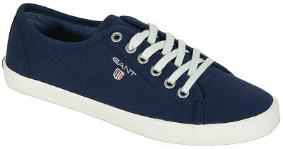 GANT NEW HAVEN 12538062 TWILL TEXTILE NAVY BLUE SNEAKERS sale