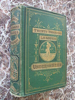 Twenty Thousand 20,000 Leagues Under the Sea,Jules Verne,1874 Edition,First Form