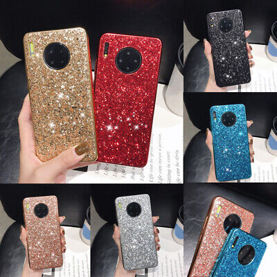 For Huawei Mate 30 Pro 20 P30 Lite Glitter Sparkle Hard Back Case Phone Cover
