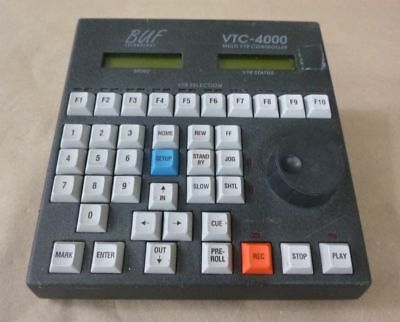 BUF TECHNOLOGY VTC-4000 MULTI VTR / DDR CONTROLLER - UP TO 10 RS-422 VTRs DDRs