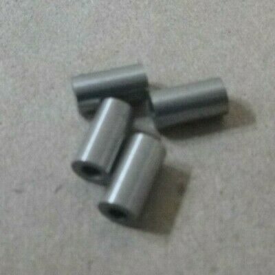 """3/32"""" ID x 7/32"""" OD x 3/8"""" LONG STEEL STANDOFF BUSHING SPACER SPACERS (4pcs.)"""