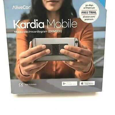 Kardia Mobile AliveCor Mobile Electrocardiogram EKG/ECG Clinical Grade Monitor