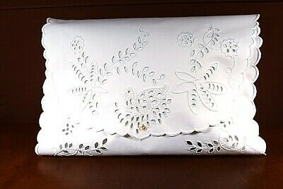 Antique Pillow Cover With Fabulous Hand Embroidery