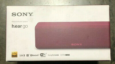 Sony SRS-hg1 Hear And  Go Portable Wireless Bluetooth Speaker - Pink Extra Bass