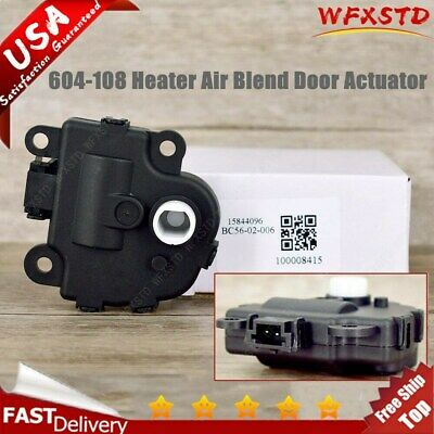 HVAC Heater Blend Door Actuator Left Right 604-108 for Chevy Impala 2004-2010 US