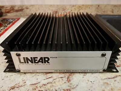 Amplificatore Linear Power 2002 - HiFi Car Stereo