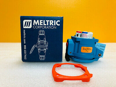 Meltric 33-14073 DS20 250VAC 20A 5HP Type 3R Receptacle Connector New In Box