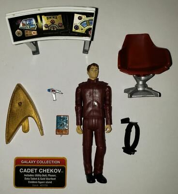 "Star Trek Galaxy Collection Cadet Chekov 3.75""  Action Figure Toy (Loose)"