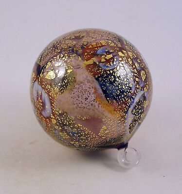 New Murano Millefiori Amazing Ornament Ball  & Murrine Italian Art Glass