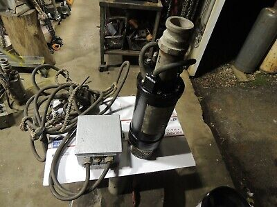 Pump, Dewatering, Prosser, 1hp, 115V, Submersible, w/Control Box, Cord and Rope