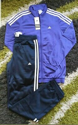 Adidas PES Tracksuit Junior Girls Kids Age UK 14-15 Years