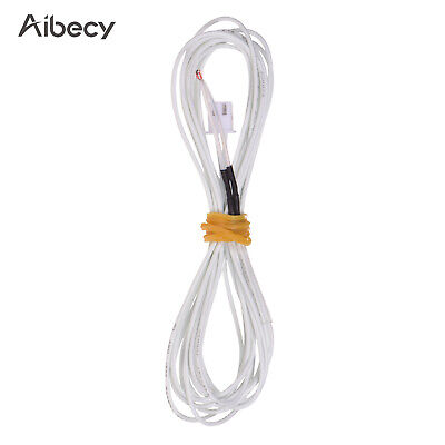 Aibecy Thermistor Sensor 100K Ohm with 1.2 Meter Wiring Cable and Female O1D9
