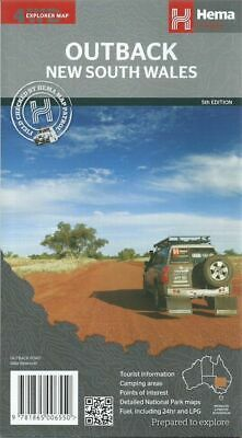 Hema Outback New South Wales Map *FREE SHIPPING - NEW*