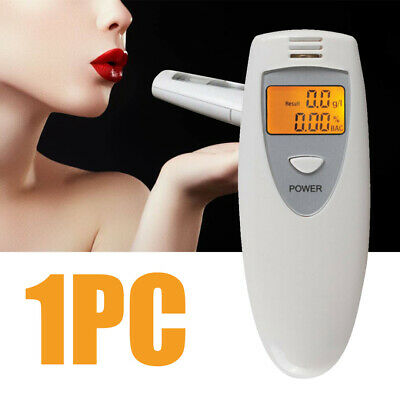 Portable LCD Digital Breath Alcohol Tester Breathalyser Detector Analyzer AU