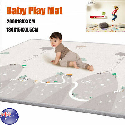 Non-Slip Baby Carpet Game Play Mat Foam Puzzle Pad Crawling Baby Blanket AU