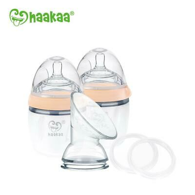 Haakaa Generation 3 Silicone Pump and Bottle Pack