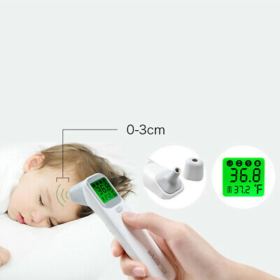 Baby Kid Adult IR Infrared Medical Digital Termometer Non-Contact Forehead LCD