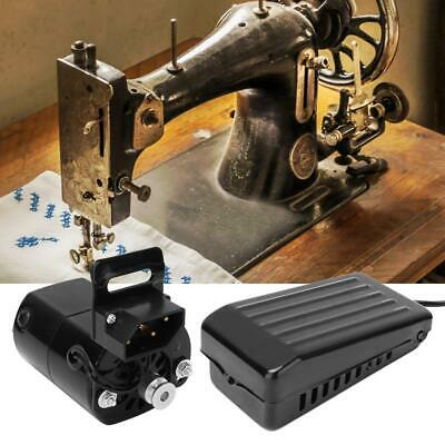 180W Sewing Machine Motor & Foot Pedal Kit Domestic Sewing Machine Parts Set NEW