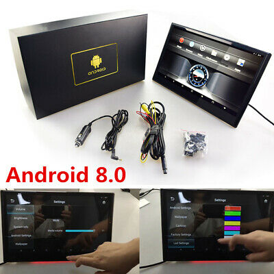 "13"" Auto Sitz Kopfstütze Monitor Android 8.0 Octa Core 2GB+16GB Wifi HDMI IN/OUT"