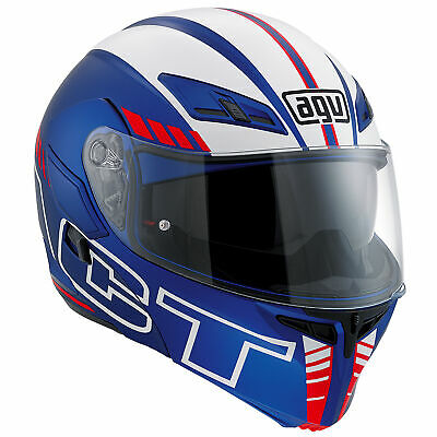 AGV Compact ST Seattle Blue/White/Red Motorcycle Motorbike Helmet